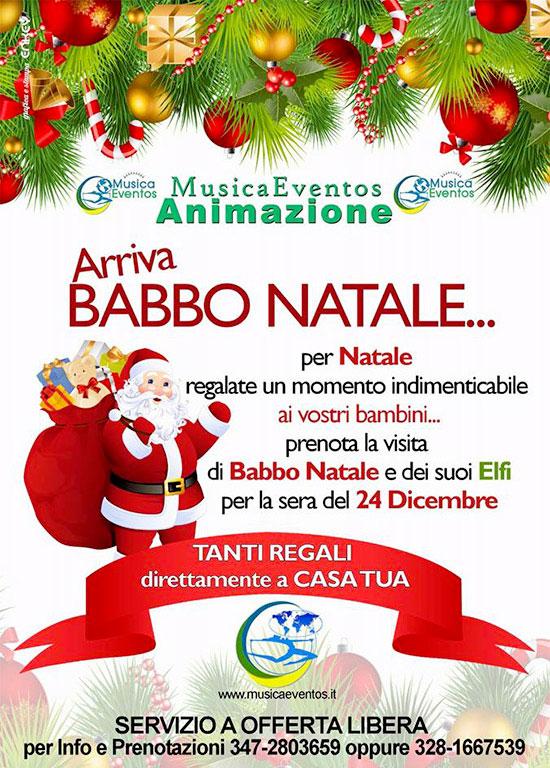 Babbo Natale Animazione.Babbo Natale 2015 Musica Eventos Eventi Spettacoli Animazione